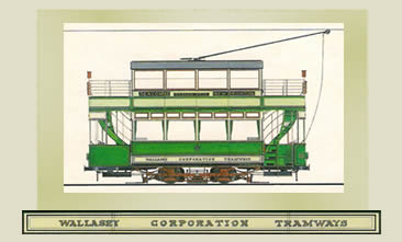 History of Wallasey Tramways